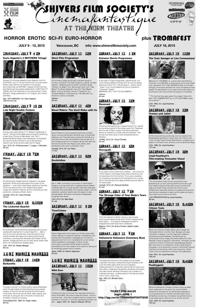 Cinemafantastique Flyerv2 11x17